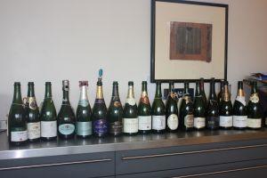 champagne tasting Dec 2014